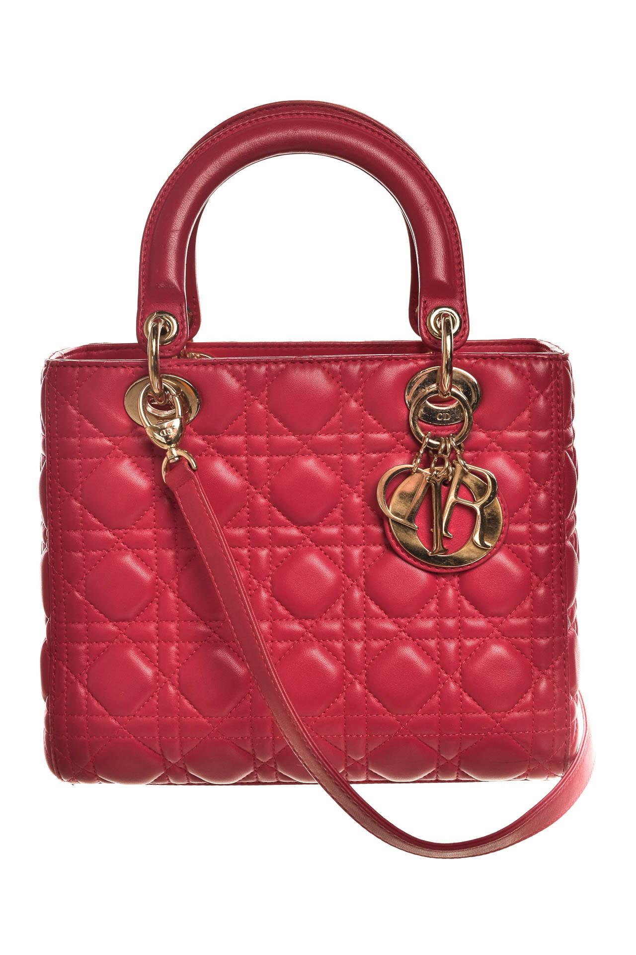cd34001e584 Christian Dior. Bolsa Lady Dior