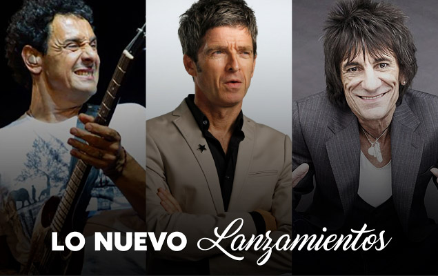 Lo Nuevo: Ricardo Mollo, Noel Gallagher y Ron Wood thumbnail