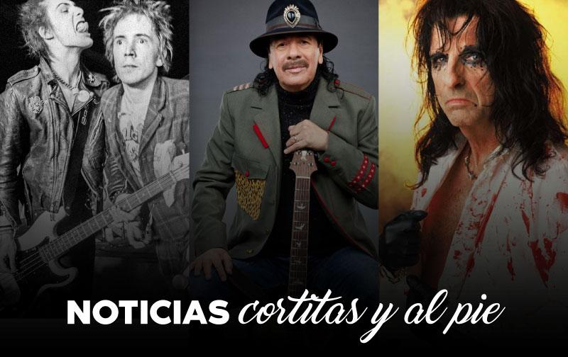 Cortitas y al pie: Sex Pistols, Santana y Alice Cooper thumbnail