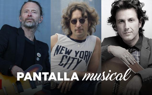 Pantalla Musical: Radiohead, Coti y John Lennon thumbnail