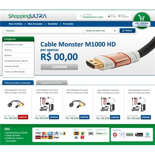 ec5fe547899f8e Shopping Ultra - Site de Comercio Eletronico / e-commerce | Criação...