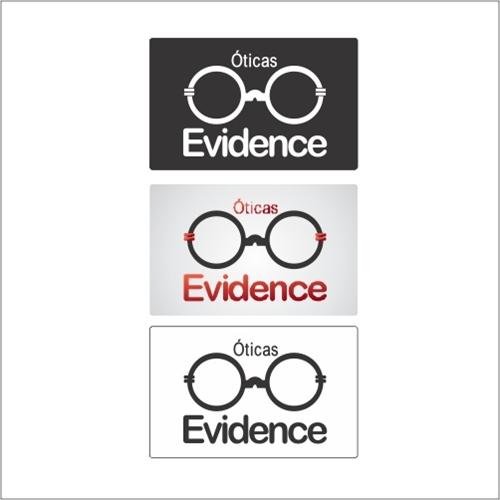 80bc2edc0fc33 Logo para OTICAS EVIDENCE   SAsoluçao 641298