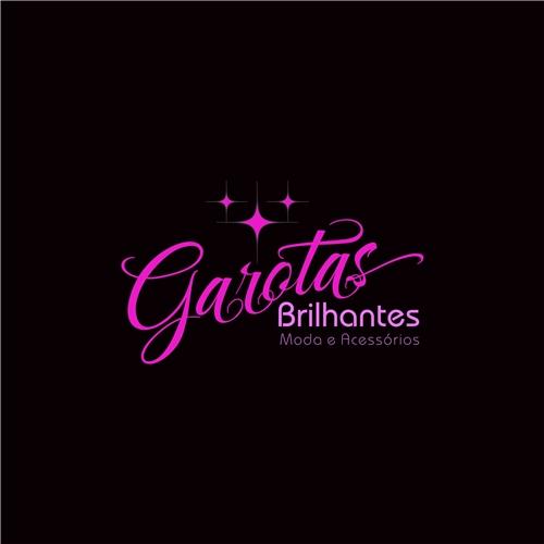 ec695d8a38909 GAROTAS BRILHANTES   Criação de Logo Para Roupas, Jóias   Assessorios