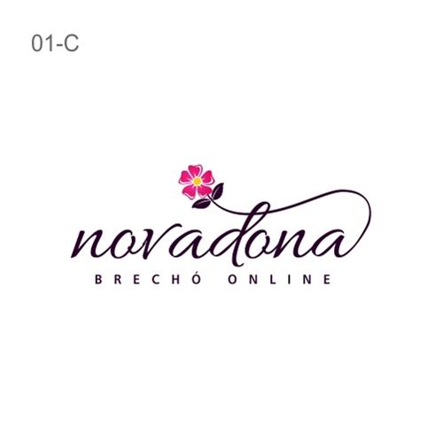 bf99858cf Nova Dona Brechó Online | Criação de Logo Para Roupas, Jóias & Asse...