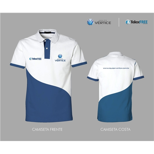 fdb1821f9 Camisa (unidade) para Equipe Vértice -..