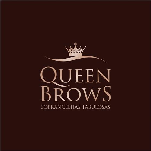 Logo e Papelaria (6 itens) Para Beleza - Queen Brows - Sobrancelhas...