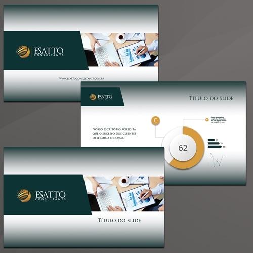 Faça um projeto de Slide Mestre pelo valor de R$ 545,00