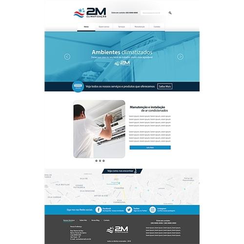 a8f8b4362 Layout Web-Design para 2M Climatização | Alexandr.. 4849046