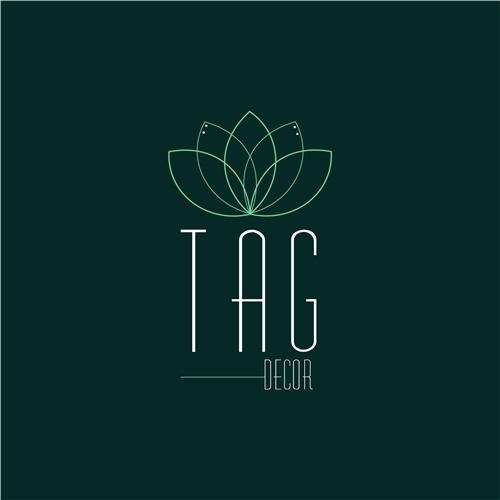 764323e4c Logo e Cartao de Visita para TAG Decor | Ó Design 5096225
