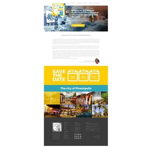 0f5a77639 Layout Web-Design para 9th BrazMedChem | Leo Amar.. 5132907