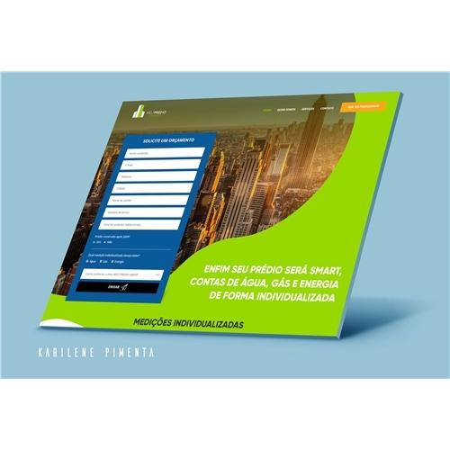 bbf3a2623 Layout Web-Design para Medição Individu.. | Karilene.. 5283264