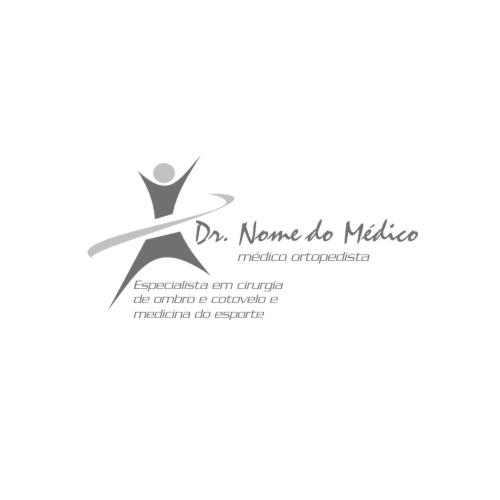 cria231227o de logo para medicina ortopedia medicina