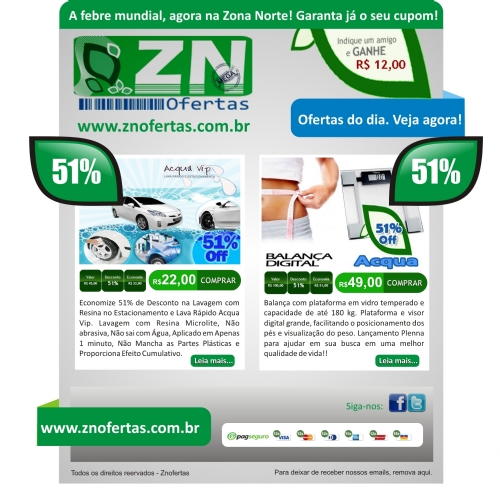 Comprar Layout Email Mkt/Newsletter