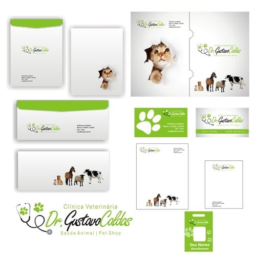 clinica veterinaria dr gustavo caldas cria231227o de logo e