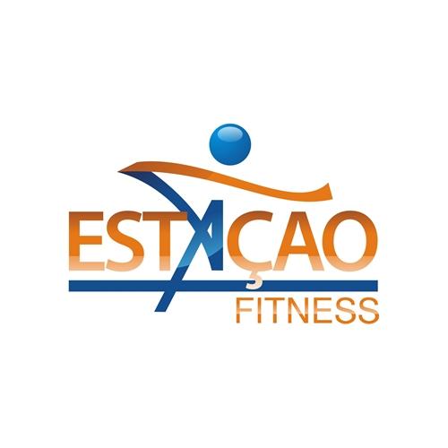 Exemplo de Logo do designer DU.DESIGNER para a Academia Estaçao Fitness