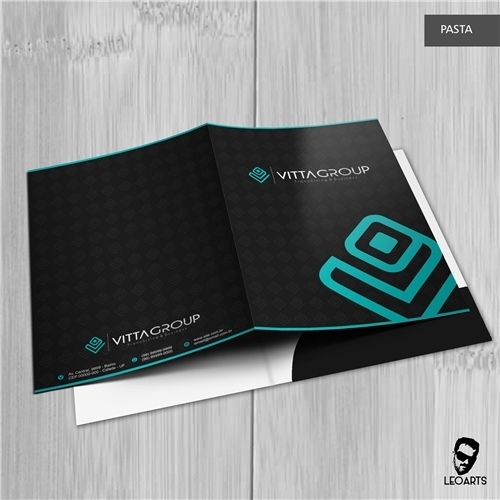 VITTA GROUP, Logo e Identidade, Consultoria de Negócios
