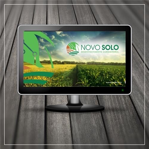 NOVO SOLO DESENVOLVIMENTO AGROMINERAL, Logo e Identidade, Consultoria de Negócios