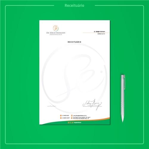 Dr. Sérgio Erdmann, Logo e Identidade, Saúde & Nutrição