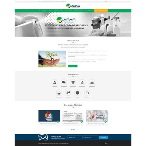 ABAS - Associação Brasileira de Aerossóis e Saneantes Domissanitários, Web e Digital, Associações, ONGs ou Comunidades