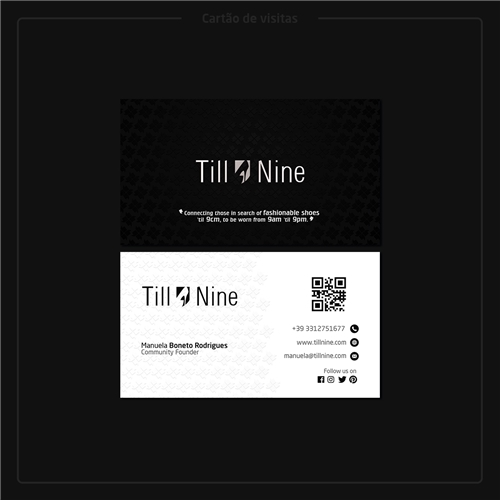 Till Nine (Apenas 3 itens: Cartão, Pasta e Papel Timbrado), Logo e Identidade, Outros