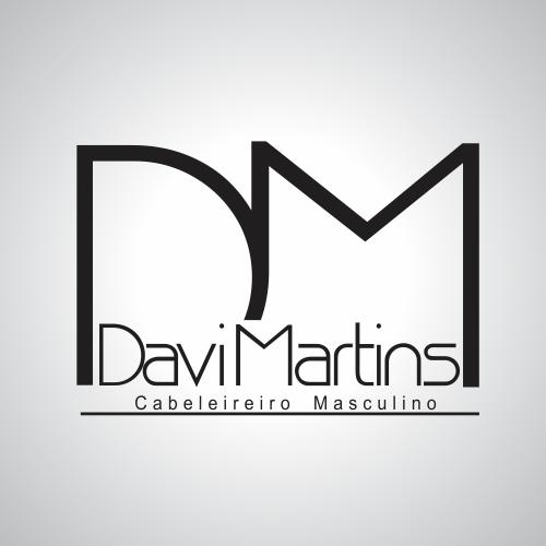 Muito Logo para Davi Martins Cabeleireiro Masculino | We Do Logos RF75