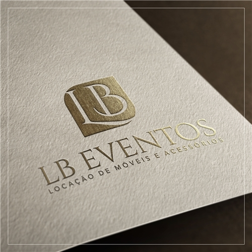 L b eventos cria o de logo para decora o mob lia for Plano b mobilia