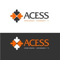 ACESS, Logo e Identidade, Automaçao/TI/som e vídeo (Domótica)