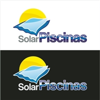 solar piscinas, Logo e Identidade, manutençao de piscinas, construçao, vendas de equipamentos