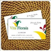 Vita Florais, Logo e Identidade, Industria de Florais, produtos naturais, suplementos alimentares em capsulas, líquidos e chás