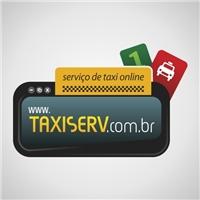 Taxi Serv, Logo e Identidade, Rádio Táxi via internet