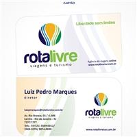 Rota Livre Viagens e Turismo, Logo e Identidade, Viagens & Lazer