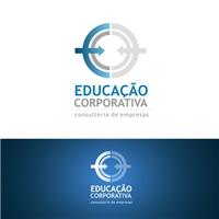 Educaçao Corporativa Consultoria de Empresas, Logo e Identidade, Consultoria de Negócios