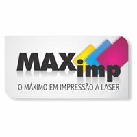MAX-IMP ( O MAXIMO EM IMPRESSAO A LASER), Logo e Identidade, INFORMATICA (VENDA DE TONERS E CARTUCHOS)