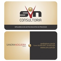 SVN CONSULTORIA, Logo e Identidade, INTELIGENCIA EM GESTAO EDUCATIVA DE PROCESSOS