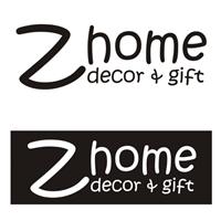 Z home - Decor & Gift, Logo e Identidade, Decoração & Mobília