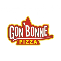 "Gon""bonne PIZZA, Logo e Identidade, Pizzaria"