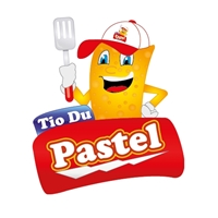 Pastel - Mascote, Construçao de Marca, Fast Food - Pastelaria