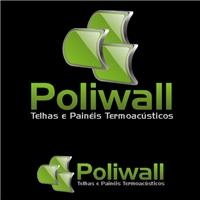 Poliwall Industria de Poliuretano da Amazônia Ltda, Logo e Identidade, Fábrica de telhas e painéis termoacústicos