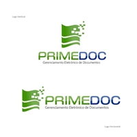 Primedoc - Gerenciamento Eletrônico de Documentos, Logo e Identidade, TI, GED, Gestao Documental