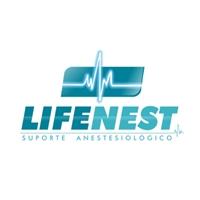 Lifenest - Suporte Anestesiológico, Logo e Identidade, Medicina ; Anestesiologia