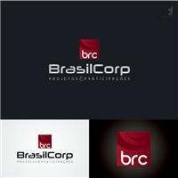 Brasil Corp - Projetos e Participaçoes, Logo e Identidade, Consultoria de Negócios