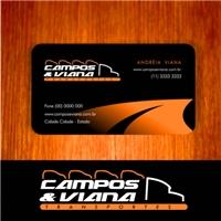 CAMPOS E VIANA TRANSPORTES, Logo e Identidade, TRANSPORTE DE CARROS OKM