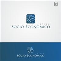 Banco Sócio-Ecomonico, Logo e Identidade, financeiro