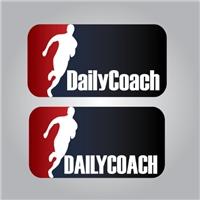 DailyCoach, Logo e Identidade, Treinamento Físico, Internet