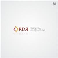 RDR - Engenharia Contra Incêndio, Logo e Identidade, Consultoria de Negócios