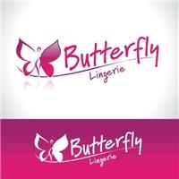 BUTTERFLY LINGERIE, Logo e Identidade, Lingeries, peças íntimas feminina