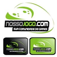 nossojogo.com, Logo e Identidade, Loja Virtual / Jogos Eletronicos