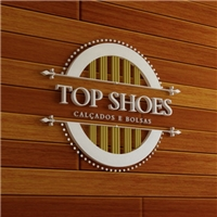 Top Shoes, Logo e Identidade, Calçados e Bolsas