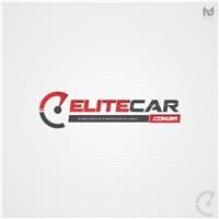 Elite Car, Logo e Identidade, Site de publicidade de revendedores de carros