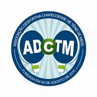 Associaçao Desportiva Chapecoense de Tênis de Mesa - ADCTM, Logo e Identidade, Esportivo